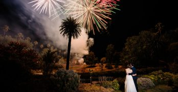Bonfire night wedding photography ideas