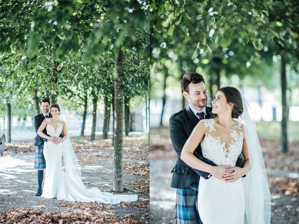 Elegant and traditional Scottish wedding