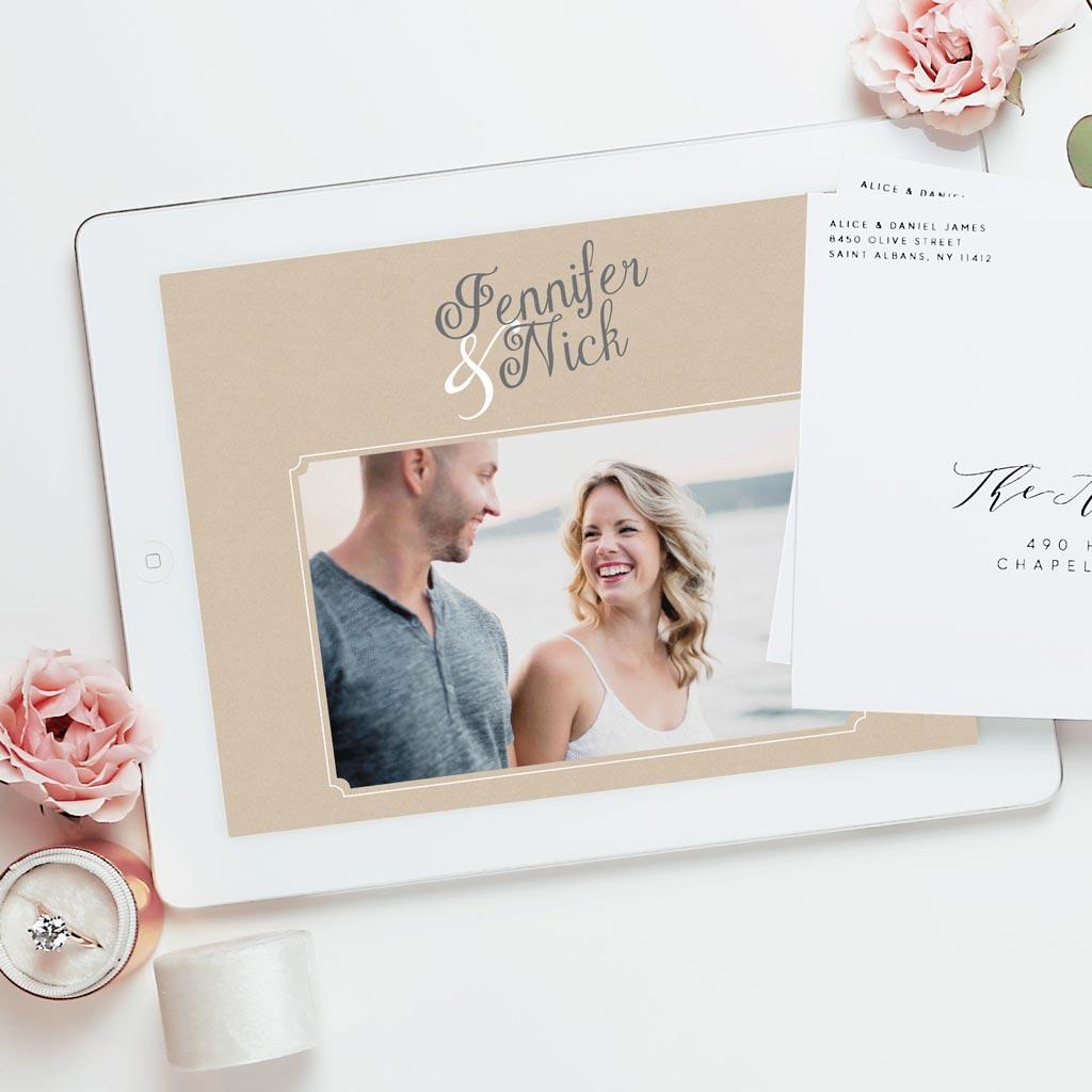 Free wedding website by Basic Invite