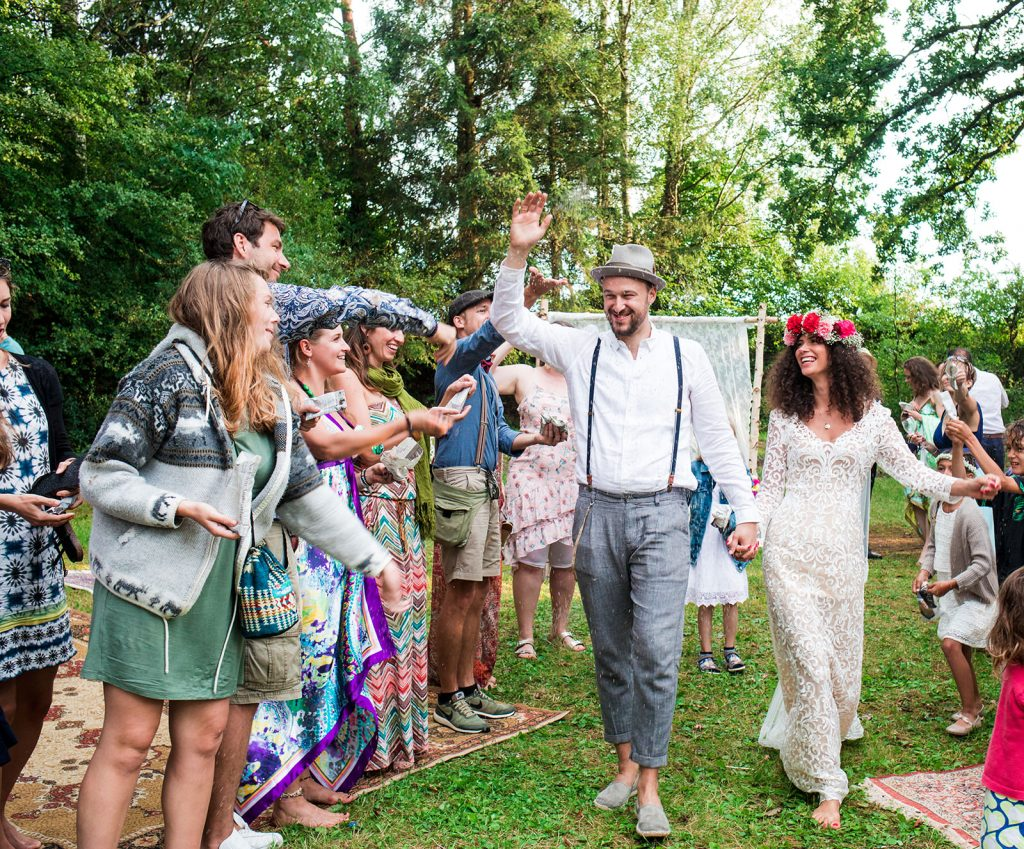 Double Bavarian wedding