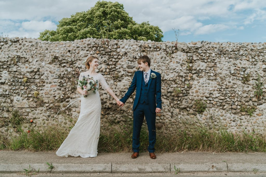 Boho wedding in Norfolk