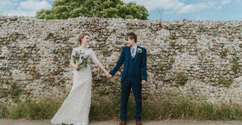 Boho wedding in Norfolk