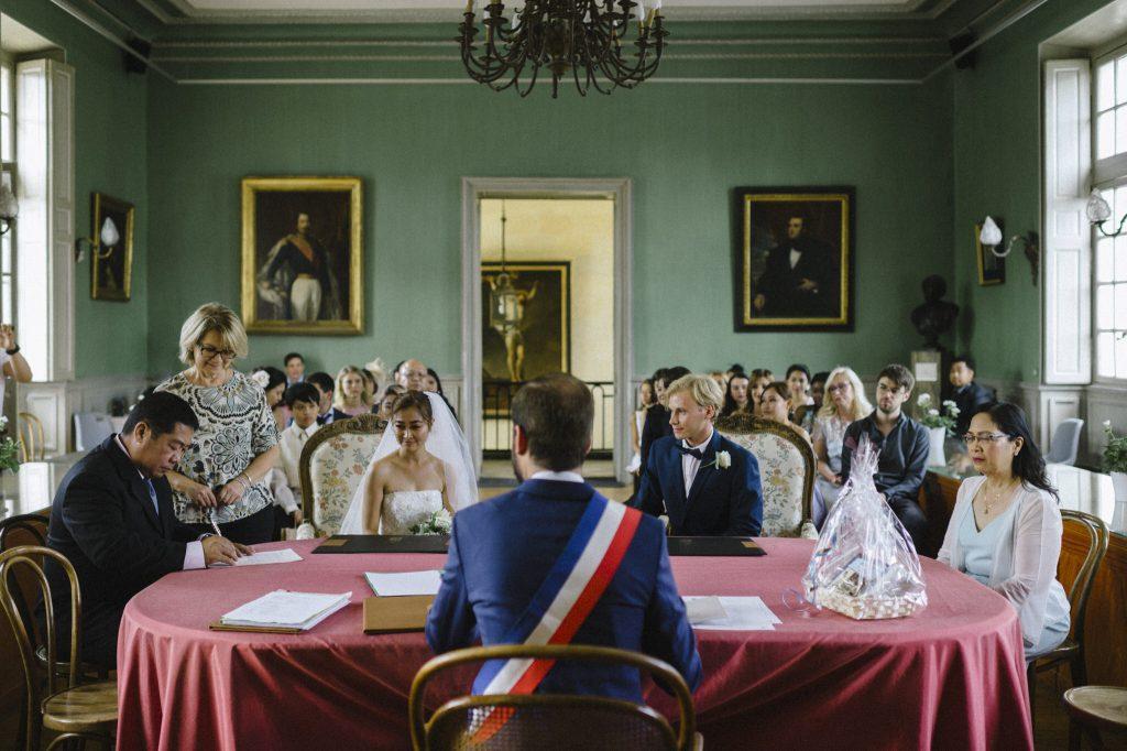French wedding ceremony
