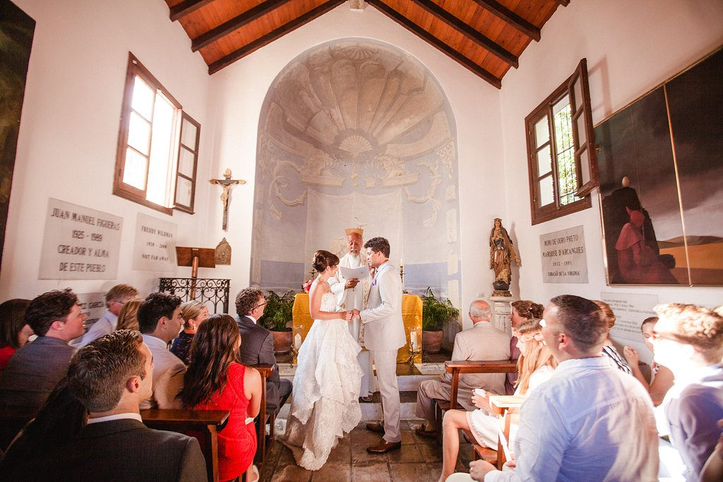 Wedding ceremony in Marbella