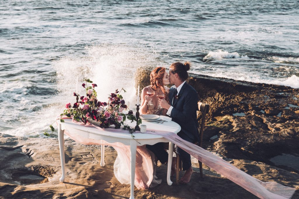 Sunset CLiffs wedding photography