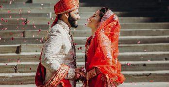 Asian wedding wear