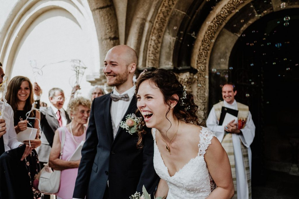 A relaxed wedding in Cologne
