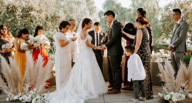 Coyote Hills Golf Course Wedding ceremony