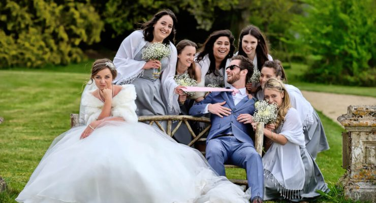 Using rule of space on a wedding day